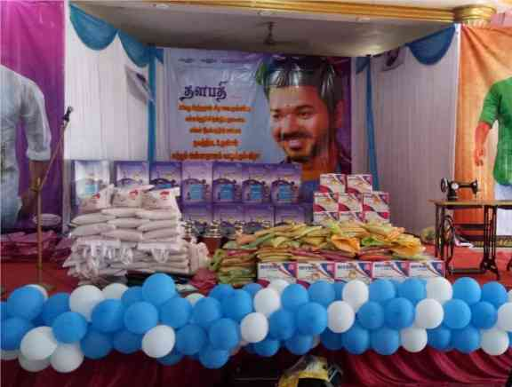 Vijay Makkal iyakkam Welfare Activities