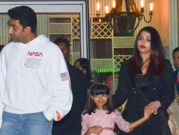 Abhishek Bachchan Celebrates Birthday With Family