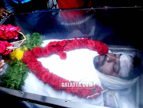 Actor Sai Prashanth last rites