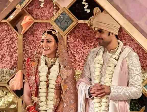 Actress Kajal Aggarwal Wedding Photos