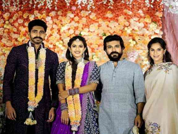 Actress Niharika Konidela and Chaitanya Engagement Photos - Telugu Tamil Event Photos
