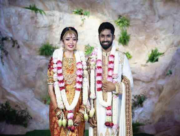 Aishwarya Shankar - Rohit Damodharan Wedding - Hindi Tamil Event Photos