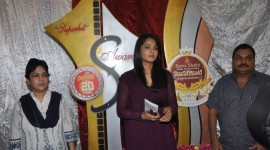 Anushka at Super Hit Awards Logo Launch