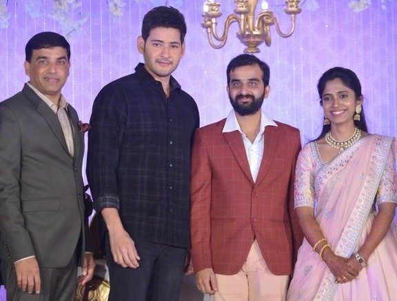 Celebrities at Producer Harshith Reddy Reception