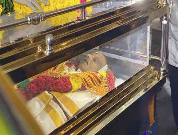 Celebrities pay their last respects To S P Balasubrahmanyam - Tamil Tamil Event Photos