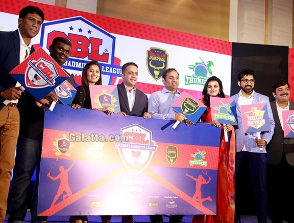 Celebrity Badminton League 2018 Season2