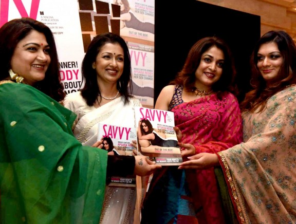 Celebs at Apsara Reddy's Savvy Magazine Women's Day Edition launch