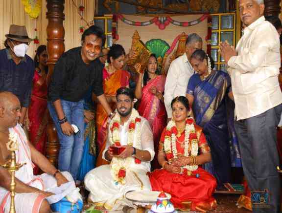 Director Selva Son Rajiv Karna Marriage Photos - Tamil Tamil Event Photos