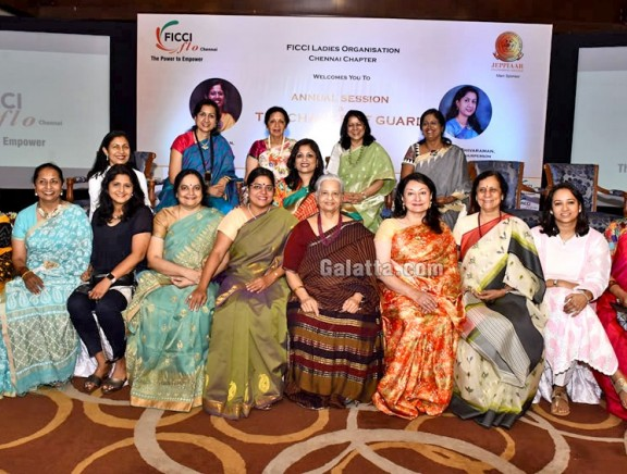FICCI FLO Chennai's Annual Session & Change of Guard Ceremony