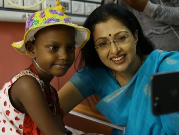 Gautami Tadimalla Visited VS Cancer Hospital