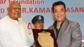 Governor Dr.K.Rosaiah Felicitates Padma Bhushan Dr.Kamal Haasan