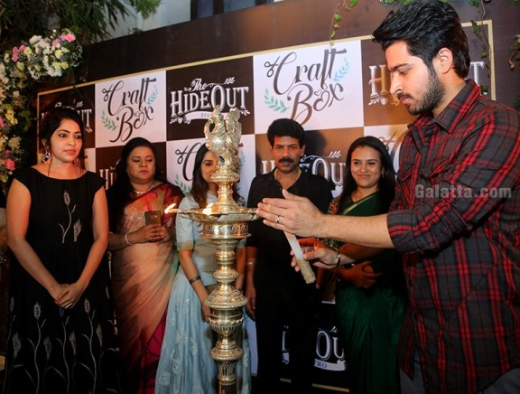 Harish Kalyan and VJ Ramya Launch Craft Box at Anna Nagar