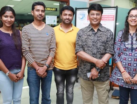 Ippadai Vellum Team at 15th Chennai International Film Festival