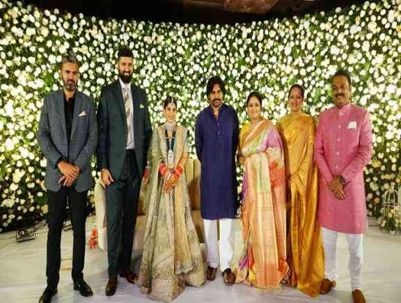 Jayasudha Son Wedding Reception