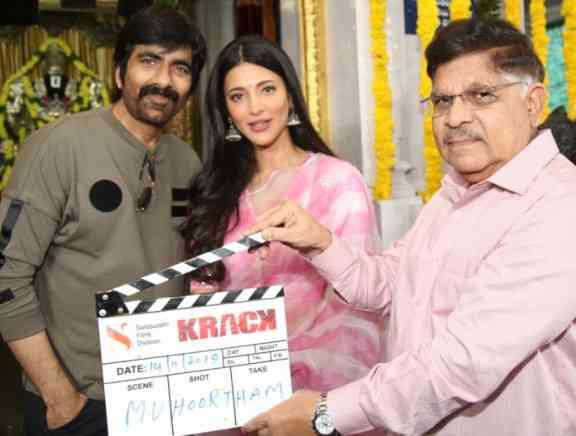 Krack Movie Launch