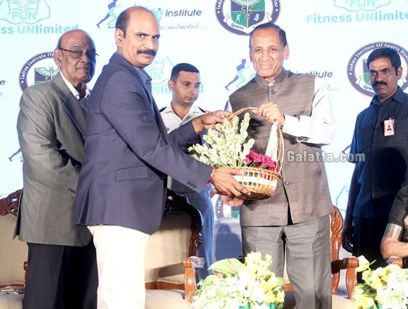 Launch of Dr.Kannan Pugazhendi's Indian Institute of Sports Medicine
