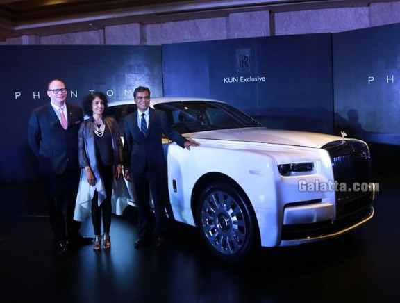 Launch of The New Rolls-Royce Phantom in South India
