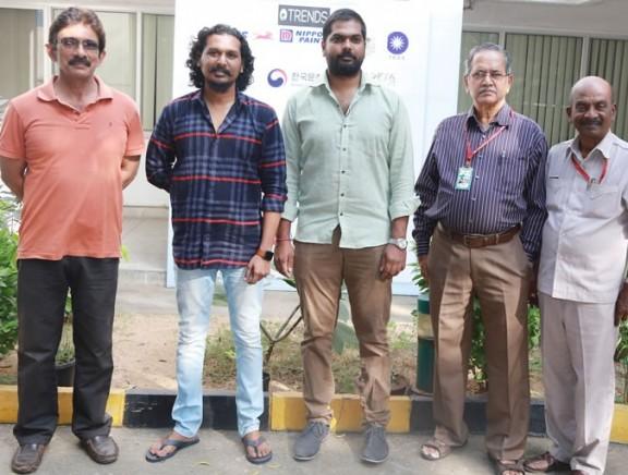 Maanagaram Team at 15th Chennai International Film Festival
