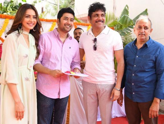 Manmadhudu 2 Movie Launch