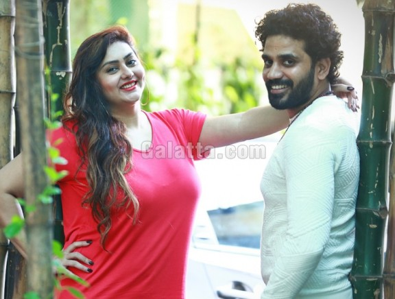 Namitha - Veera exclusive pictures