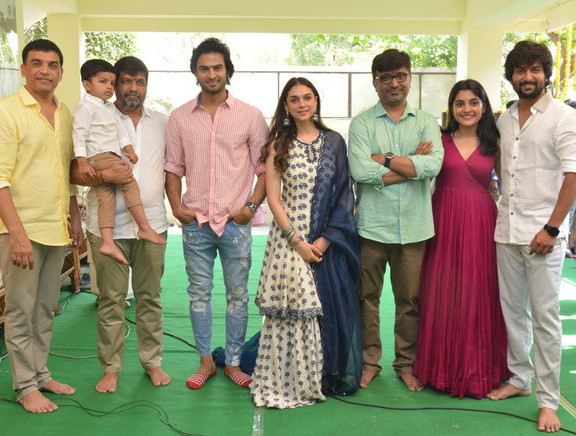 Nani & Sudheer Babu New Movie Launch