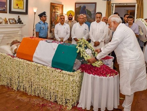 Politicians Pay Last Respect to Former Prime Minister Atal Bihari Vajpayee - Kannada Tamil Event Photos