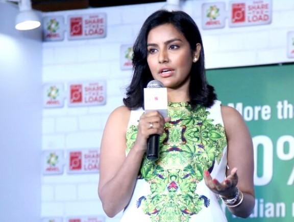 Priya Anand at Women's Day debate by Ariel