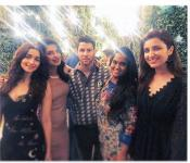 Priyanka Chopra and Nick Jonas Engagement Party - Kannada Tamil Event Photos