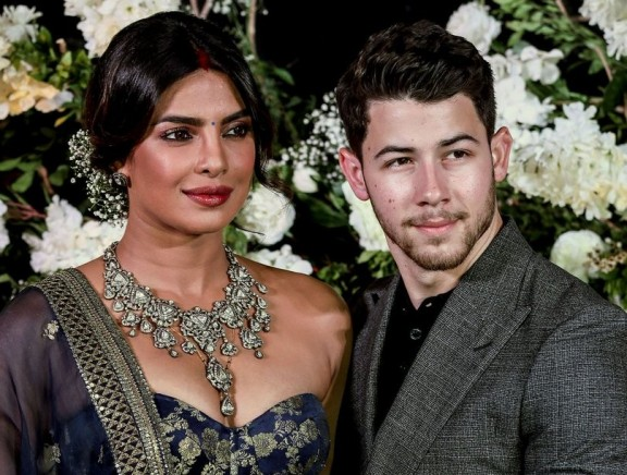 Priyanka Chopra and Nick Jonas Mumbai Wedding Reception