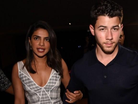 Priyanka Chopra with Nick Jonas spotted at jw marriott juhu for dinner