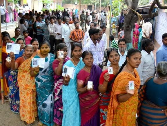 RK Nagar By Election Polling