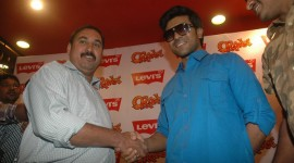 Ram Charan Teja at Levis Store