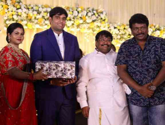 Salem RR Briyani Daughter Marriage Reception
