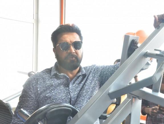 Sarathkumar Inaugurated Flux Fitness Studio