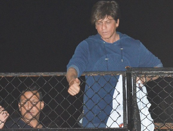 Shah Rukh Khan Greets Sea of Fans on His 53rd Birthday