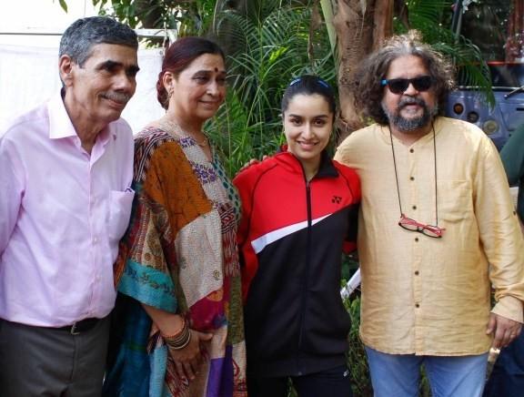 Shraddha Kapoor Shooting for Saina Nehwal Biopic