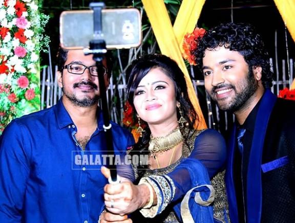 VJ Anjana - Chandran Wedding Reception