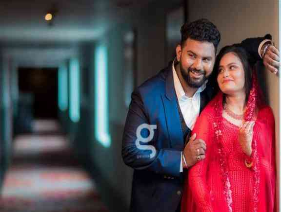 VJ Ashiq And Sonu Engagement Photos - Tamil Tamil Event Photos
