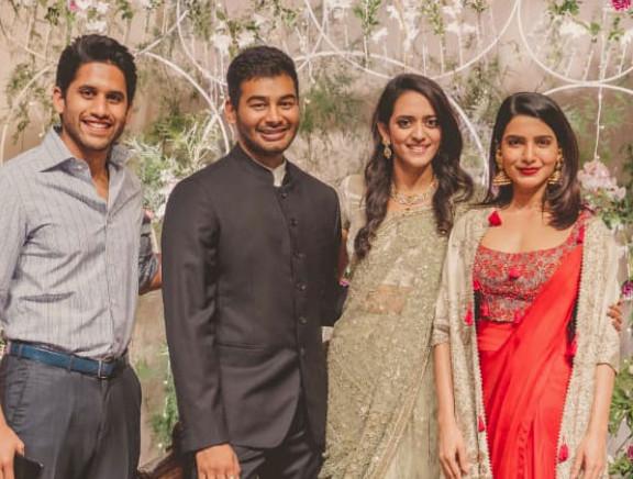 Venkatesh Daughter Ashritha and Vinayak Reddy Wedding Reception