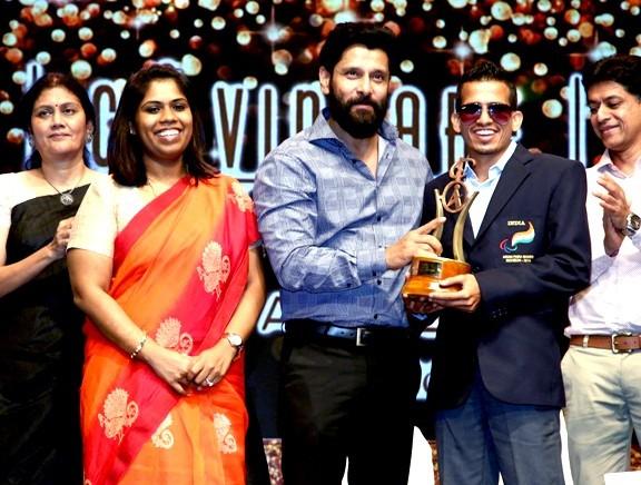 Vikram at 14th CavinKare Ability Awards
