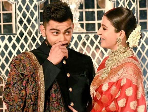 Virat Kohli - Anushka Sharma Wedding Reception