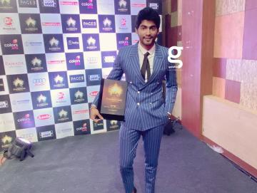 The double-breasted suit wins brownie points as it fits Tharshan perfectly - Fashion Models