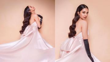 Kiara Advani's pale gown is worthy of a princess