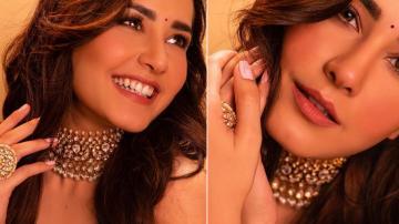 Raashi Khanna matching nna's lehenga is rich and becoming