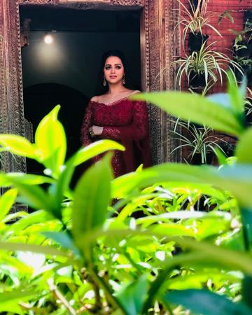 Bhavana was recently clicked in this rather charming everyday lehenga from Label M - Fashion Models