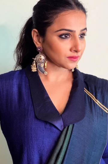The earrings from Purab Paschim add a nice touch - Fashion Models