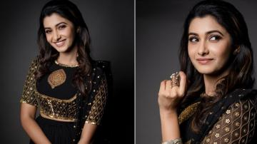 Priya Bhavani Shankar looking dignified in black