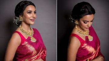Priya Anand looking awesome in a saree