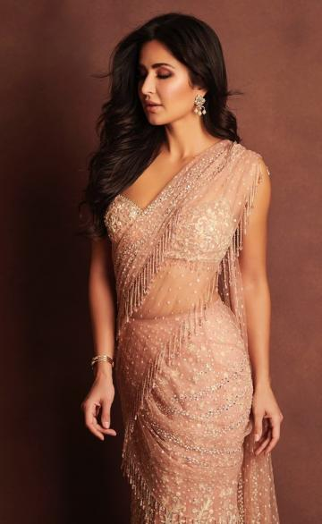 Katrina Kaif was recently seen in this Tarun Tahilani saree that we're loving! - Fashion Models