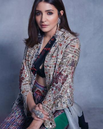 Anushka Sharma was recently seen in this fun-looking outfit from Anamika Khanna - Fashion Models